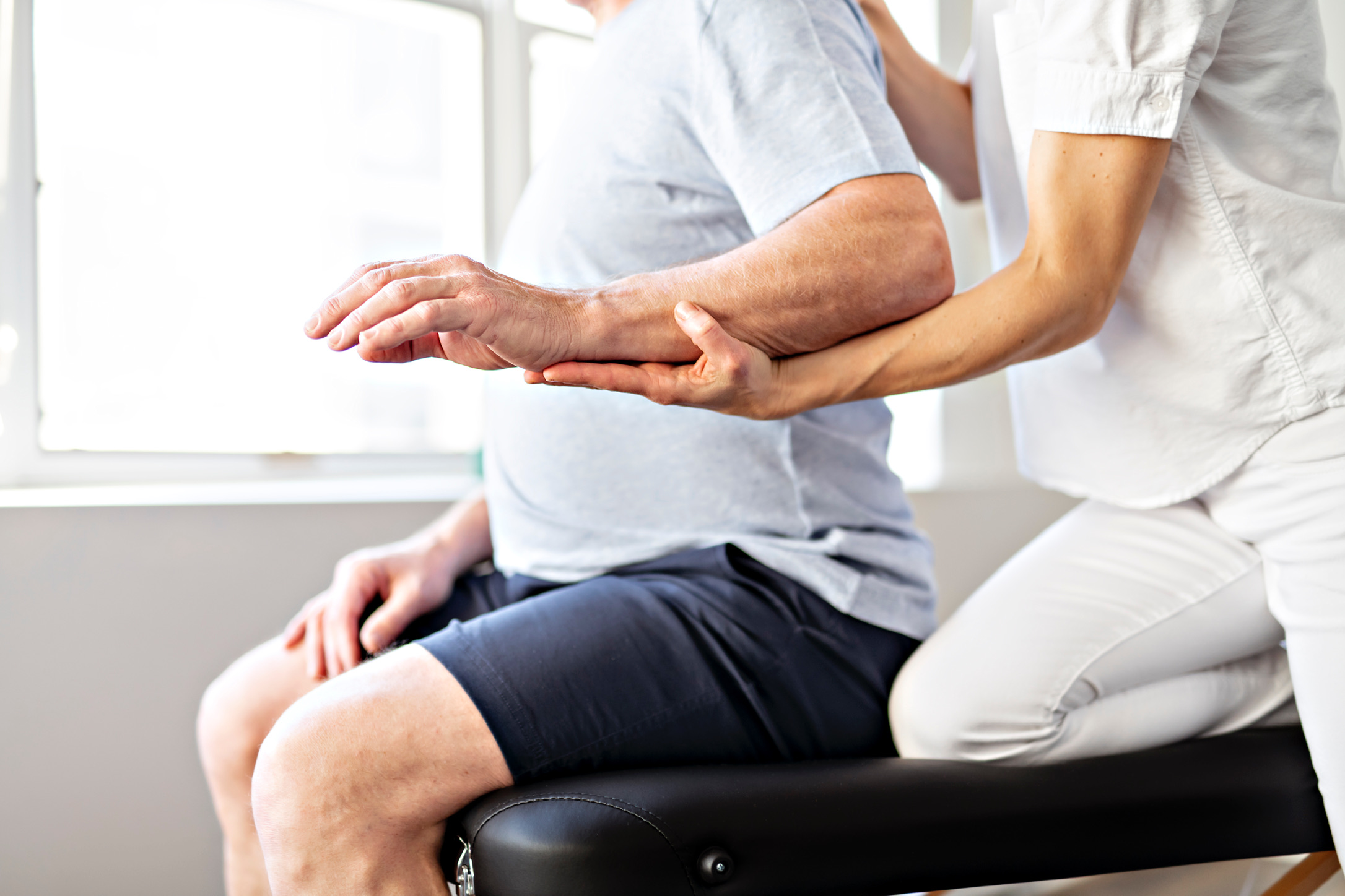 Neurological physiotherapy home visit
